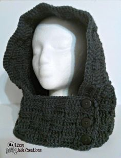 Looking for your next project? You're going to love Basket Weave Hooded Cowl by designer Jenna Johnston.