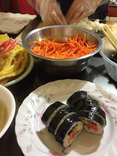 2014.5.8 저녁. 김밥