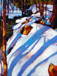 Mike Svob, Title: Ribbons of Light. The master of vibrant colour!