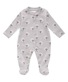 Love this Gray Sheep Footie - Infant on #zulily! #zulilyfinds