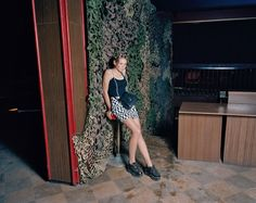 """In his book """"DISKO"""" photographer Andrew Miksys documents Lithuanian teens in village clubs. The project captures an astonishing mixture of Soviet-era debris and a hopeful new generation. Shoes Editorial, Youth Culture, Girl Pictures, Awkward, Pagan, Scene, Lady, Dresses, Women"""