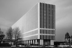 Department of Foreign Affairs of the GDR (1964-68) in Berlin, Germany, by Josef Kaiser