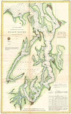 Puget Sound / 1867 U.S. Coast Guard