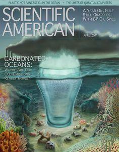 Ocean Acidification – Art as Applied to Medicine Bp Oil, Ocean Acidification, Carbon Cycle, Oil Spill, Art History, Medicine, How To Apply, Science, Seas