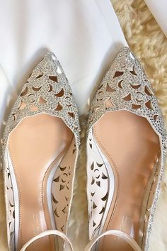 Officially The Most Gorgeous Bridal Shoes ❤ See more: http://www.weddingforward.com/gorgeous-bridal-shoes/ #weddingforward #bride #bridal #wedding