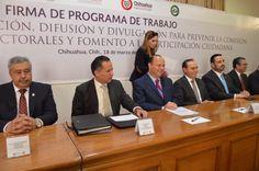 Encabeza Duarte firma de convenio para prevenir delitos electorales y fomentar la participación social | El Puntero