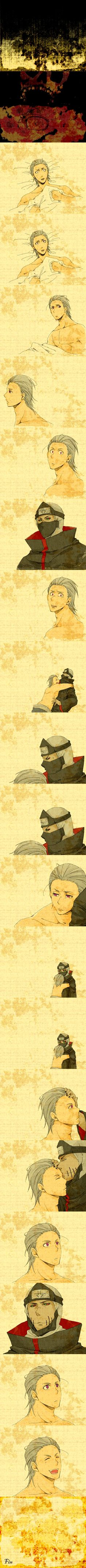 Hidan and Kakuzu - Cute!