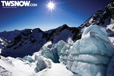 Danny Davis.  Glacier.  Wallpaper Wednesday.