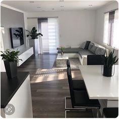 Decor Home Living Room, Home And Living, Living Room Designs, Home Room Design, Home Interior Design, House Design, Interior Modern, Apartment Interior, Apartment Living