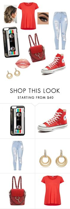 """Random outfit #100"" by rye-claw ❤ liked on Polyvore featuring Converse, David Yurman, Chloé and Splendid"