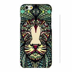 """Накладка пластиковая LUXO Animals для iPhone 6 4.7"""" Лев купить в интернет-магазине BeautyApple.ru."""