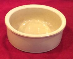 Vintage Roseville Ohio Art Pottery Crock #250-7 RRP Co USA Stoneware Crock Bowl