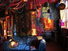 colorful bohemian style