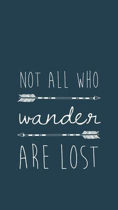 No todos los que preguntan, estan perdidos..