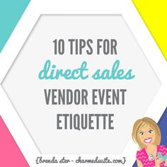 Are you in Direct Sales, and interested in expanding into vendor events? GREAT! Vendor events are fantastic ways to get outside of your own circle of contacts, make sales, and build leads for potential customers, hostesses, and team members. If you're interested in learning how to sourcevendor events, checkout THISblog post. Then, check out THISone …