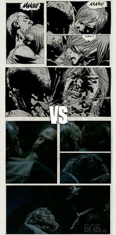 The Walking Dead comics and show. Walking Dead Comic Book, Walking Dead Comics, Fear The Walking Dead, Twd Comics, Talking To The Dead, Stuff And Thangs, Rick Grimes, Dead Man, Comic Book Covers