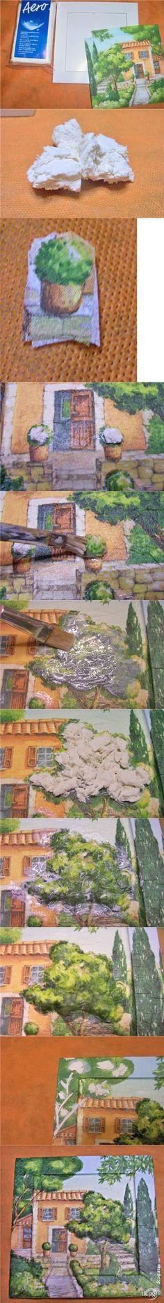 Декупаж - Сайт любителей декупажа - DCPG.RU | 3-d декупаж с использованием легкой массы Click on photo to see more! Нажмите на фото чтобы увидеть больше! decoupage art craft handmade home decor DIY do it yourself tutorial