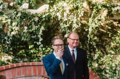 Love this groom's reaction to seeing his bride!