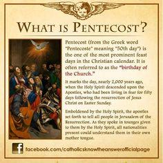 pentecost fun facts