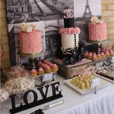 French Bridal Shower