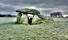 Haroldstown Dolmen, County Carlow, Ireland.