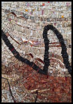 Ecorce n*1 - L'art de la mosaïque par Laëtitia M. Mosaïste