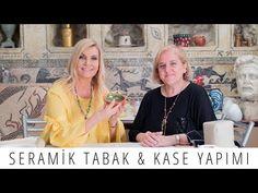 Seramik Tabak & Kase Nasıl Yapılır | Derya Baykal - YouTube Chalk Paint, Diy And Crafts, Clay, Ceramics, Handmade, Youtube, Cupcake, Fimo, Psychics