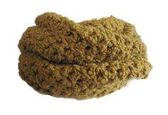 Crochet Cowl Infinity Scarf Chunky Scarf in by AmandaJaneIreland Crochet Scarves, Crochet Clothes, Chunky Scarves, Crochet Fashion, Cowls, Hand Crochet, Little Girls, Infinity, Wraps