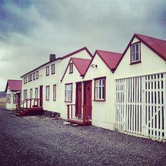 The lovely Berunes hostel in Berufjörður #iceland...