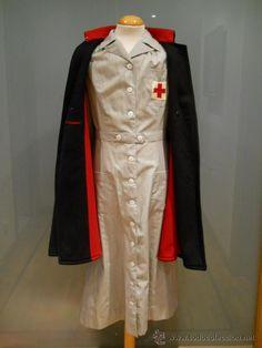 II GUERRA MUNDIAL  enfermera  voluntaria de la Cruz Roja Americana.