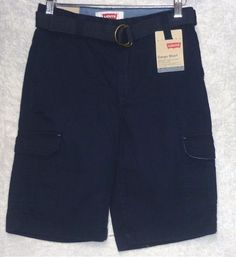 Levis Boys Cargo Shorts Relaxed Fit Belted Cotton Navy Youth size 10 NEW  16.99 http://www.ebay.com/itm/Levis-Boys-Cargo-Shorts-Relaxed-Fit-Belted-Cotton-Navy-Youth-size-10-NEW-/252984247624?var=&hash=item8087209639