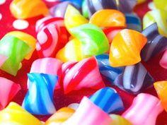 おゆまるでスイーツデコ ストライプキャンディ How to make Stripe Candy - YouTube