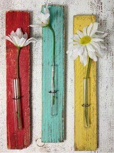 Boho flower arrangement