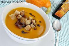 Polievka Hokkaido (fotorecept) - recept | Varecha.sk Thai Red Curry, Soup Recipes, Ethnic Recipes, Food, Fashion, Hokkaido, Moda, Fashion Styles, Essen