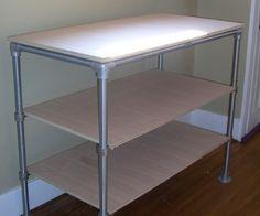 How to Build a Workbench/Storage Shelf