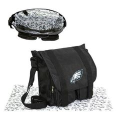 Philadelphia Eagles NFL Sitter Baby Diaper Bag