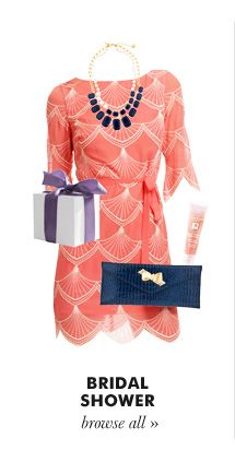 Beautiful for a bridal shower, but maybe a stylish option for MOB or MOG?
