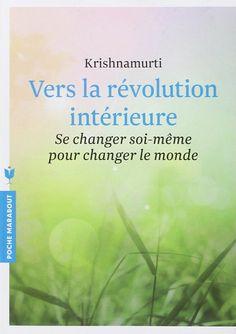 Amazon.fr - Vers la révolution intérieure - Jiddu Krishnamurti - Livres