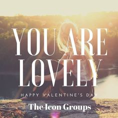 You are lovely and we hope that your Valentine's Day was as well! Happy day of love from The Icon Groups!