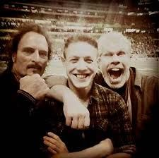 Kim Coates, Theo Rossi & Ron Perlman. Awesome.
