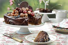 Luksusostekake med deilig smak av sjokolade...