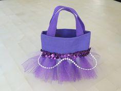Sofia the first theme goddie bag #Disney #sofiathefirst #party #ideas