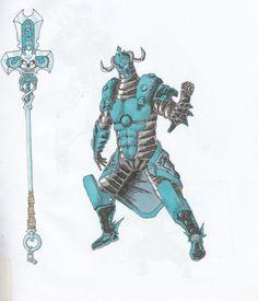 armour of the dark water sage V1 by catalin6.deviantart.com on @DeviantArt