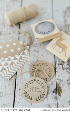 Print Your Own Christmas Gift Wrapping Paper | DIY | Christmas Inspiration | Gifts | Photography by Christine Meintjes