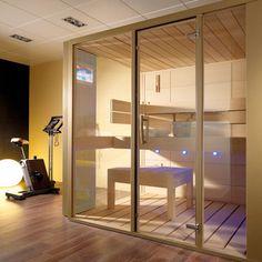 Luxury and Futuristic Home Sauna - GALA from Porcelanosa