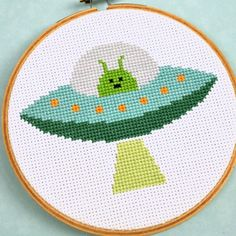 sci fi cross stitch patterns | sci fi