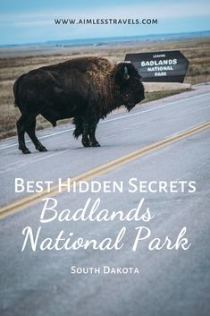 7 Must See Spots and Hidden Gems in Badlands National Park in South Dakota that you can't miss during your next trip! South Dakota Vacation, South Dakota Travel, North Dakota, Badlands National Park, National Parks Usa, Travel Activities, Travel Usa, Beach Travel, Abandoned Castles