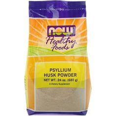 Now Foods, Psyllium Husk Powder, 24 oz g), Free Ship Psyllium Seed Husks, Psyllium Husk Powder, Fiber Supplements, Alkaline Foods, Alternative Treatments, Cancer Cure, Whole Food Recipes, Herbalism