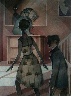 Mystery Scene by Rachel Suggs