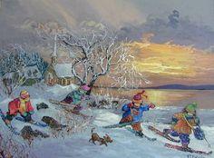 J'adore les oeuvres de Pauline Paquin, une artiste autodidacte du Québec qui gagne vraiment à être connue! Ces ouvrages sont colorés,...